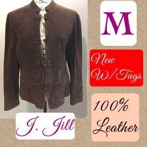🌿NWT J Jill leather jacket